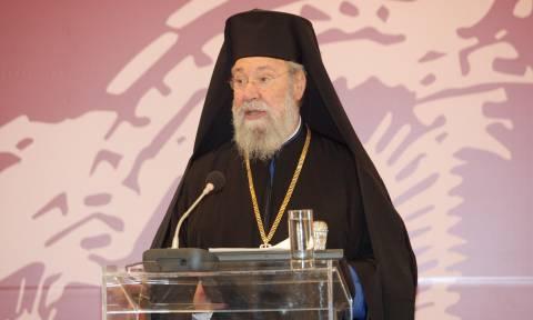 Αρχιεπίσκοπος Κύπρου: Οι ενέργειες των Τούρκων στην κυπριακή ΑΟΖ είναι σαν «Αττίλας 3»
