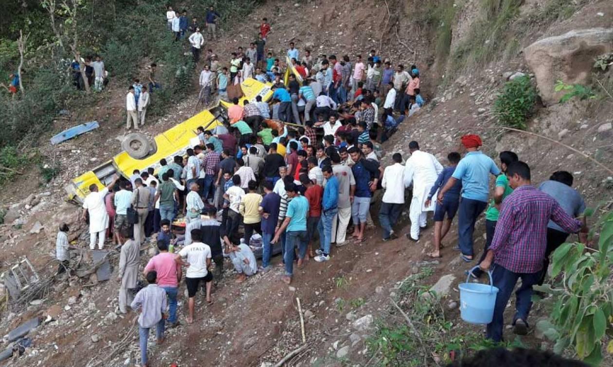 Ασύλληπτη τραγωδία: Τροχαίο σχολικού λεωφορείου με δεκάδες νεκρούς μαθητές
