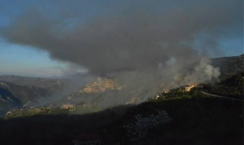 Απίστευτες εικόνες:  Δείτε τι έγινε στην Αράχωβα από το σούβλισμα των αρνιών!