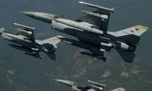 Συναγερμός στο Αιγαίο: Πέντε παραβιάσεις από τουρκικά αεροσκάφη