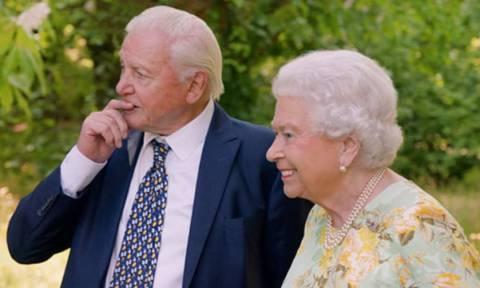 Η Βασίλισσα Ελισάβετ κάνει πλάκα με το θάνατό της και τον… Τραμπ σε ντοκιμαντέρ για τη φύση (video)