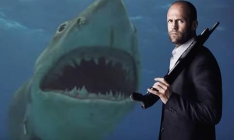 Ηθοποιός «απειλείται» από Καρχαρία της εποχής των δεινοσαύρων! (vid)