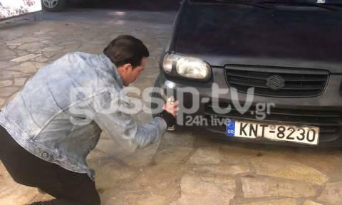 DWTS 6: Κι όμως το έκανε! Έγραψε τον αριθμό που τον ψηφίζουν στο αμάξι του