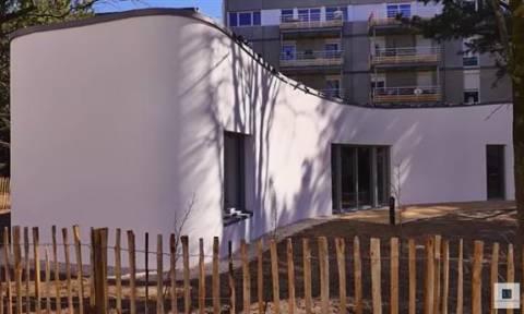Απίστευτο: Αυτό είναι το πρώτο σπίτι στον κόσμο που βγήκε από τρισδιάστατο εκτυπωτή (Vid)
