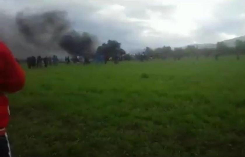 Έκτακτο: Συντριβή στρατιωτικού αεροσκάφους στην Αλγερία - Φόβοι για εκατοντάδες νεκρούς