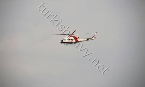 Αυτό είναι το τουρκικό ελικόπτερο που δημιούργησε το θερμό επεισόδιο πάνω από τη Ρω