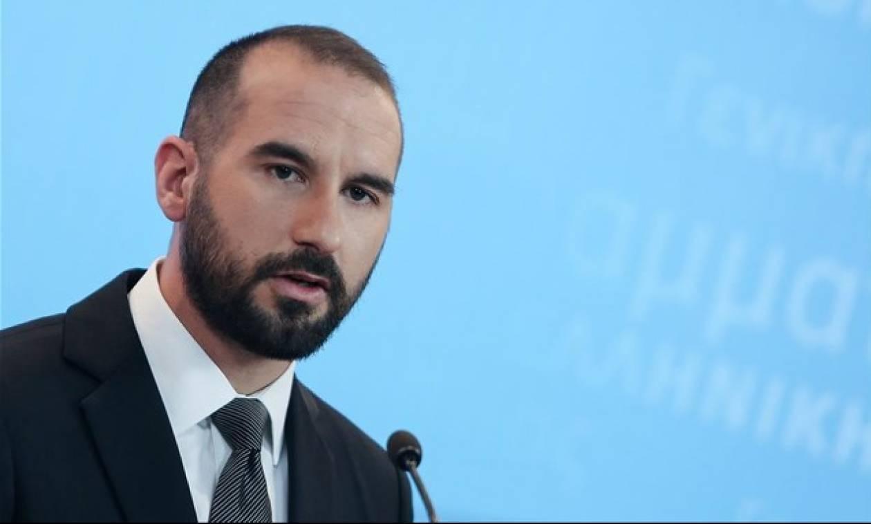 Τζανακόπουλος για Τουρκία: Παρακολουθούμε με απόλυτη εγρήγορση την προκλητικότητα της γείτονος