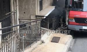 Πανικός στη Λαμία: Φωτιά σε διαμέρισμα με μικρά παιδιά (pics)