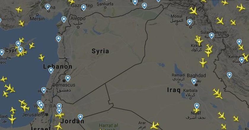 Προμήνυμα πολέμου: Καμία εμπορική πτήση πάνω από τη Συρία (pic)