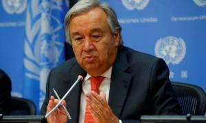 Γκουτέρες για Συρία: Tα πέντε μόνιμα μέλη του ΣΑ να αποτρέψουν μια κατάσταση εκτός ελέγχου