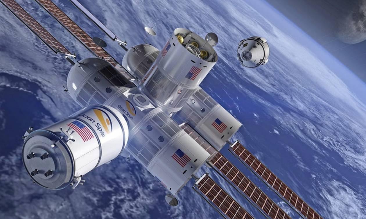 Τεχνολογικός θρίαμβος: Φτιάχνουν δωμάτια ξενοδοχείου στο διάστημα!