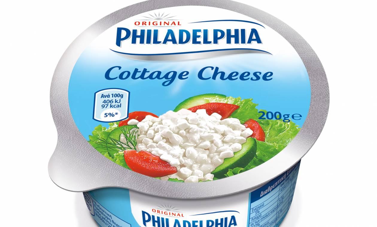 Ανακαλείται το Cottage Cheese Philadelphia