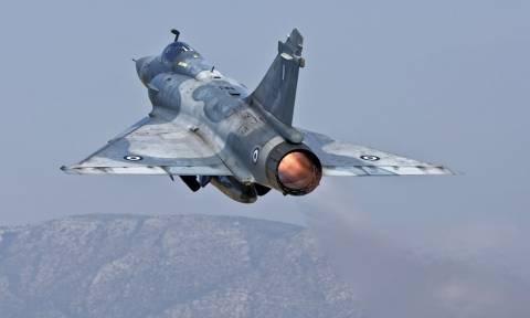 Πτώση Mirage 2000-5 της Πολεμικής Αεροπορίας ανοιχτά της Σκύρου - Αγνοείται ο πιλότος