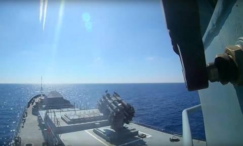 Ρωσικά πλοία απομακρύνονται από τη Συρία υπό το φόβο επίθεσης