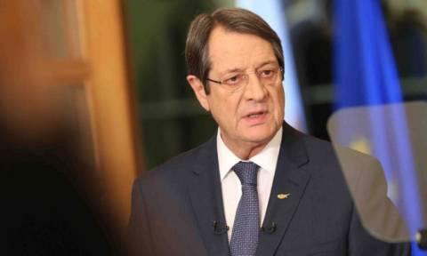 Ο Αναστασιάδης ενημέρωσε τους πολιτικούς αρχηγούς ενόψει του δείπνου με τον Ακιντζί