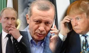 Ραγδαίες εξελίξεις: Έκτακτη τηλεφωνική επικοινωνία Ερντογάν με Πούτιν και Τραμπ