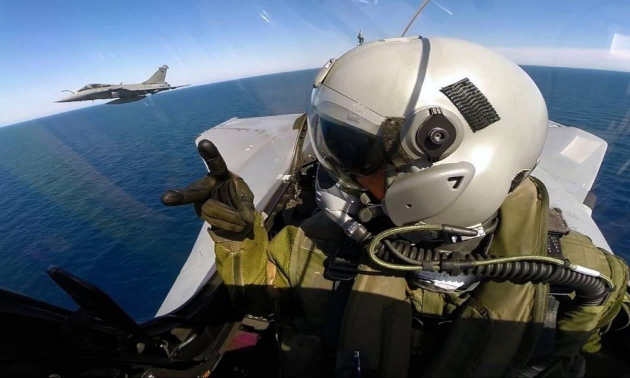 Βίντεο ντοκουμέντο: Η κάμερα του δεύτερου Mirage κατέγραψε τη συντριβή του μαχητικού (vid)