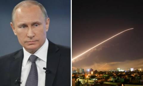 Πόλεμος Συρία: Έξαλλος ο Πούτιν – Τρόμος για την αντίδρασή του