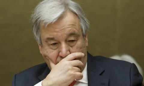 Πόλεμος Συρία: Αυτοσυγκράτηση ζητά ο ΟΗΕ
