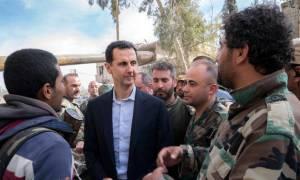 Πόλεμος Συρία: Η απίστευτη αντίδραση του Μπασάρ αλ Άσαντ μετά τους βομβαρδισμούς (Vid)