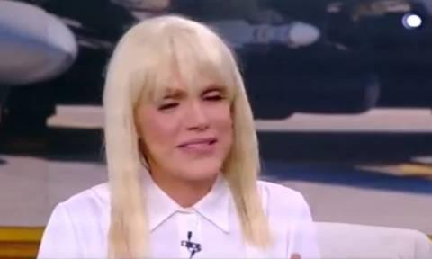 Τα δάκρυα της Σταμάτη on air για τον σμηναγό, Γιώργο Μπαλταδώρο