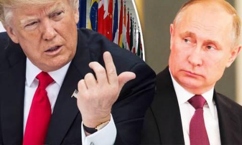 Τραμπ: Αποστολή εξετελέσθη - Πούτιν: Σκηνοθετήσατε τη χημική επίθεση για να βομβαρδίσετε τη Συρία