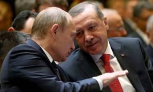 Τηλεφωνική επικοινωνία Πούτιν - Ερντογάν για τη Συρία