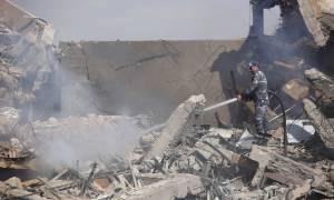 Αποκαλυπτικές εικόνες: Η Συρία πριν και μετά το «χτύπημα» των 60 λεπτών