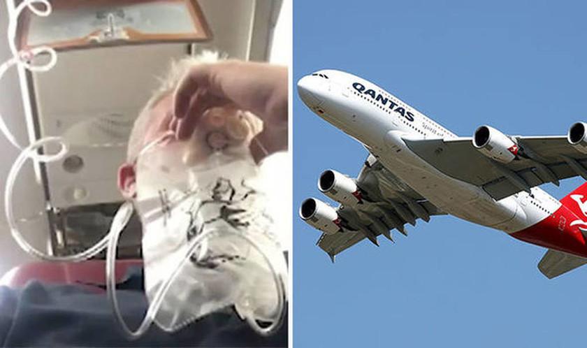 Θρίλερ στον αέρα: Τρομοκρατημένοι επιβάτες ήταν σίγουροι ότι θα πεθάνουν (Vid)