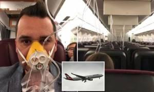 Θρίλερ στον αέρα: Τρομοκρατημένοι επιβάτες ήταν σίγουροι ότι θα πεθάνουν (Pics+Vid)
