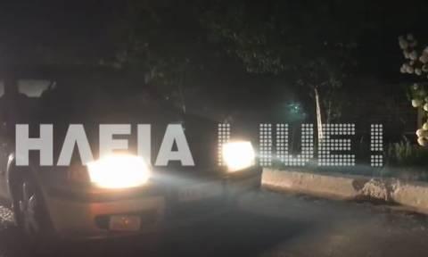 Φωτιά Ηλεία: Οι δραματικές στιγμές των κατοίκων της Σκιλλουντίας σε ένα βίντεο