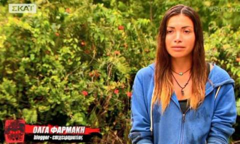 Survivor 2: Έτσι αποχαιρέτισε την Όλγα Φαρμάκη το Twitter (pics+tweets)