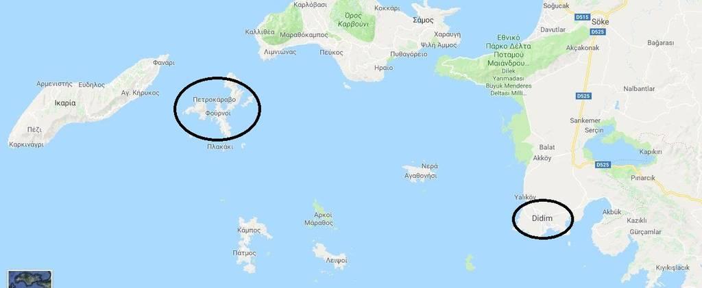 Τούρκοι κομάντος κατέβασαν την ελληνική σημαία – H αλήθεια σε ένα χάρτη
