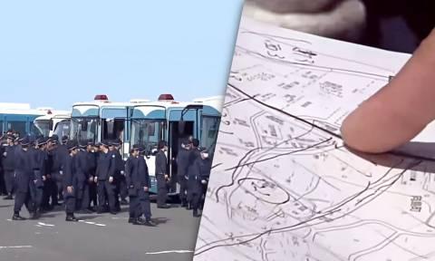 Θρίλερ στην Ιαπωνία: Ανθρωποκυνηγητό από 6.600 αστυνομικούς σε ζωντανή μετάδοση