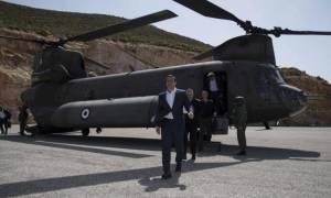 Χωρίς όρια η προκλητικότητα των Τούρκων: Παρενόχλησαν το Σινούκ που μετέφερε τον Τσίπρα