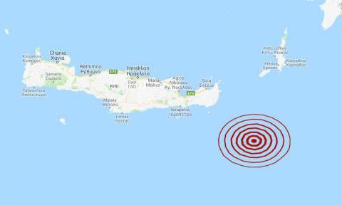 Σεισμός νοτιοανατολικά της Κρήτης (pics)