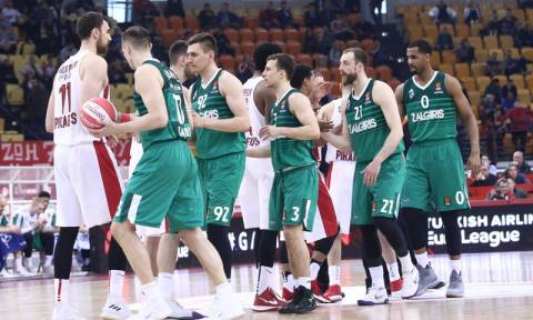 Euroleague  - Ολυμπιακός -  Ζαλγκίρις: Ποιο κανάλι θα δείξει τον αγώνα