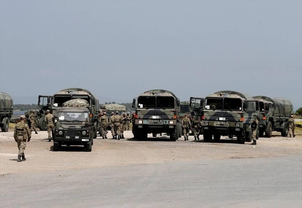 Πρόβα πολέμου: Πρωτοφανής συγκέντρωση στρατιωτικών δυνάμεων στη Χιο