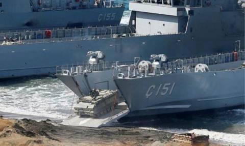 Πρόβα πολέμου: Πρωτοφανής συγκέντρωση στρατιωτικών δυνάμεων στη Χίο