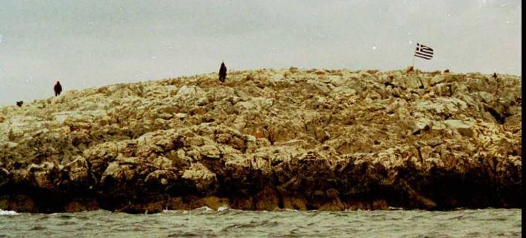 Αποκάλυψη: Η απόρρητη αποστολή Έλληνα βατραχανθρώπου στα Ίμια (φωτό αρχείου)