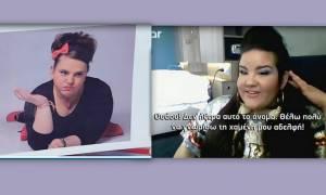 Eurovision 2018: Η αντίδραση της τραγουδίστριας - φαβορί όταν της έδειξαν την Σοφία Βογιατζάκη!
