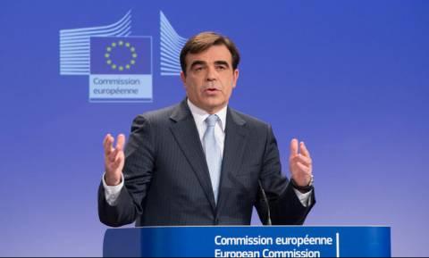 Σχοινάς: Στόχος της Κομισιόν η επιτυχής ολοκλήρωση του ελληνικού προγράμματος το καλοκαίρι