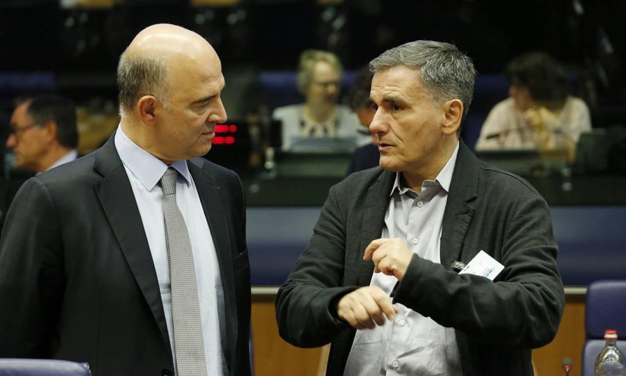 Στο «τραπέζι» του ΔΝΤ το χρέος: Κρίσιμες επαφές Τσακαλώτου με Μοσκοβισί, Σεντένο και Ντράγκι