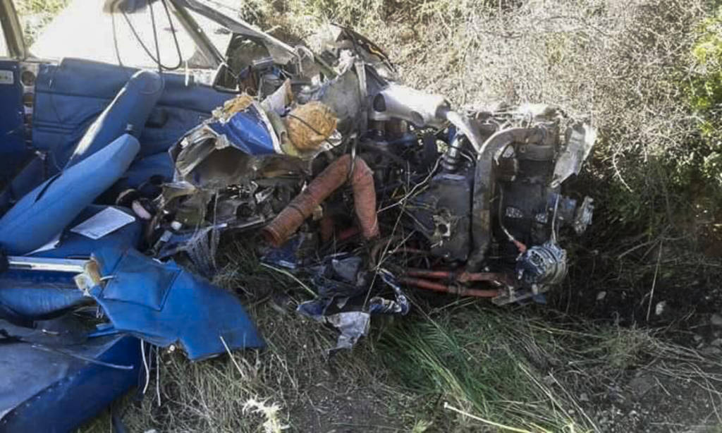 Φωκίδα: Αυτοί είναι οι δύο νεκροί από τη συντριβή του μονοκινητήριου αεροσκάφους