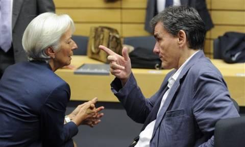 ΔΝΤ - Ελλάδα: Τι συζήτησαν Λαγκάρντ - Τσακαλώτος  για το χρέος της Ελλάδας