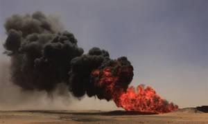 Λιβύη: Τεράστια πυρκαγιά σε πετρελαιαγωγό – Φόβοι για χτύπημα του ISIS