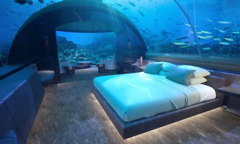 Τρέλα: Δείτε το ξενοδοχείο που ονειρεύεται κάθε άνθρωπος!