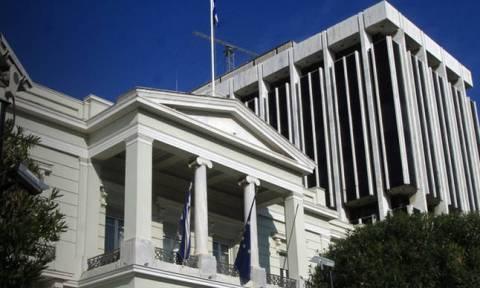 ΥΠΕΞ για Σκοπιανό: Να σταματήσει ο Χαν να υπονομεύει τις διαπραγματεύσεις
