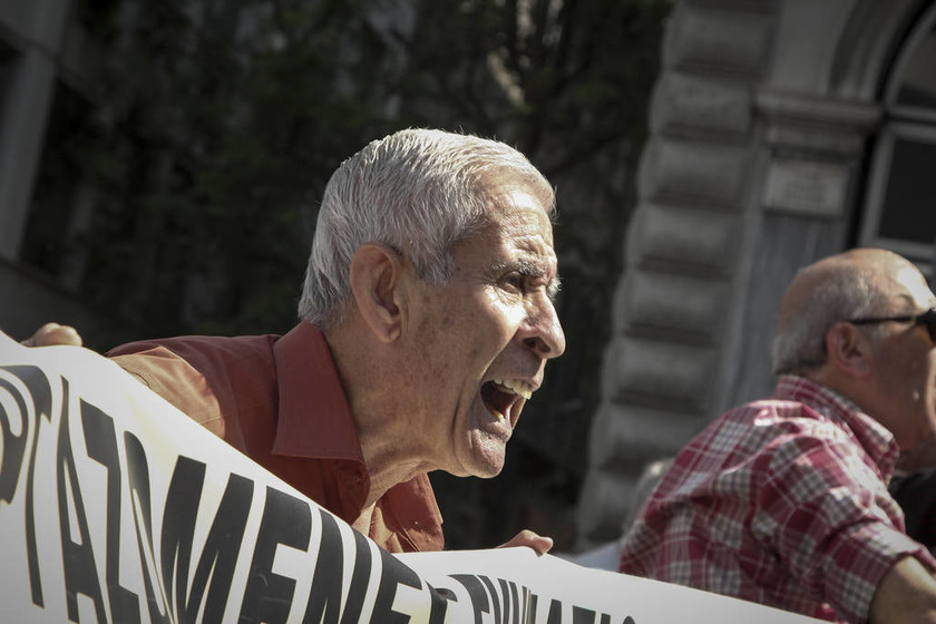 Στους δρόμους οι συνταξιούχοι - Τρεις συγκεντρώσεις σήμερα (25/04) στην Αθήνα (pics)