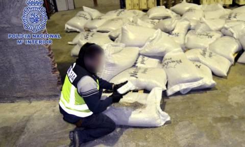 Ισπανία: Ποσότητα - μαμούθ κοκαΐνης στα χέρια της Αστυνομίας